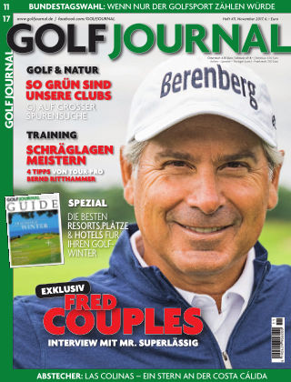 GOLF JOURNAL 11/2017