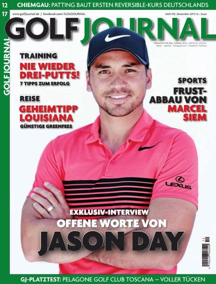 Golf Magazin November 22, 2017 00:00