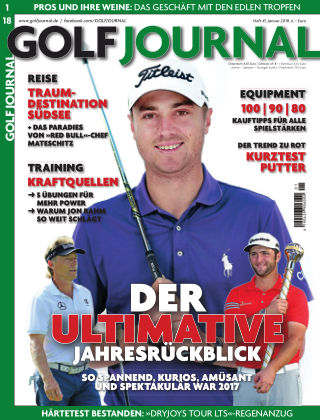 Golf Magazin 01/2018