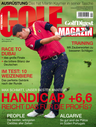 Golf Magazin NR. 01 2018
