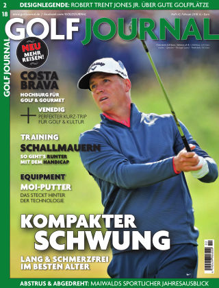 GOLF JOURNAL 02/2018