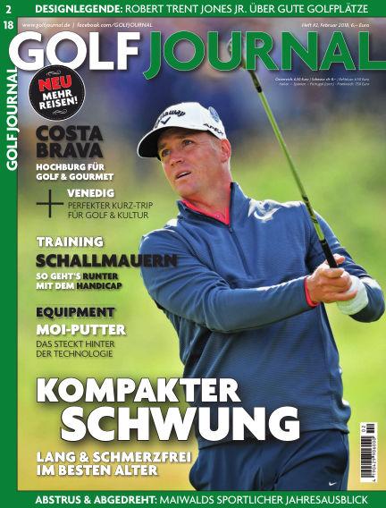 Golf Magazin January 24, 2018 00:00