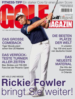Golf Magazin NR. 03 2018