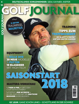 GOLF JOURNAL 04/2018