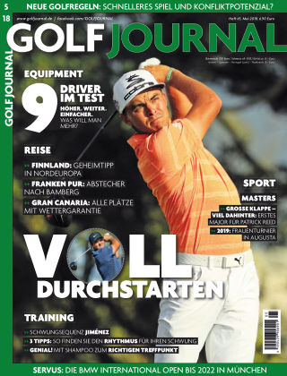 GOLF JOURNAL 05/2018
