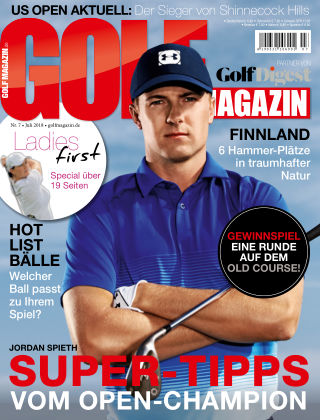 Golf Magazin NR. 07 2018