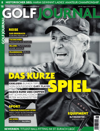 GOLF JOURNAL 08-2018