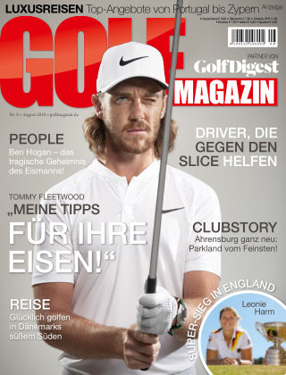 Golf Magazin NR. 08 2018