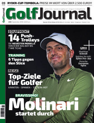 GOLF JOURNAL 09/2018
