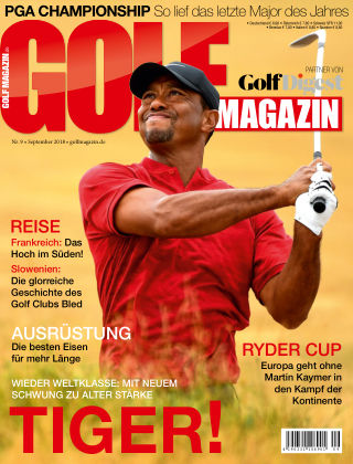 Golf Magazin NR. 09 2018