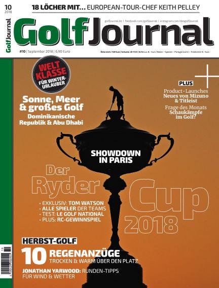 Golf Magazin September 26, 2018 00:00