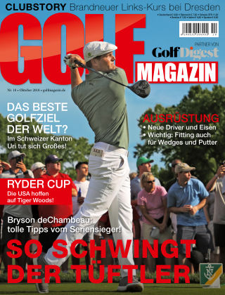Golf Magazin NR. 10 2018