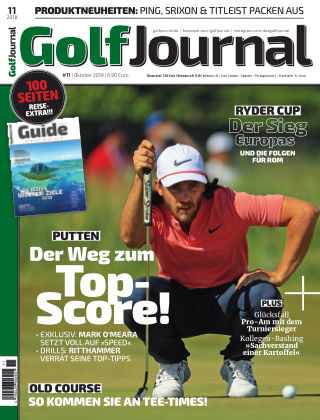GOLF JOURNAL 11/2018