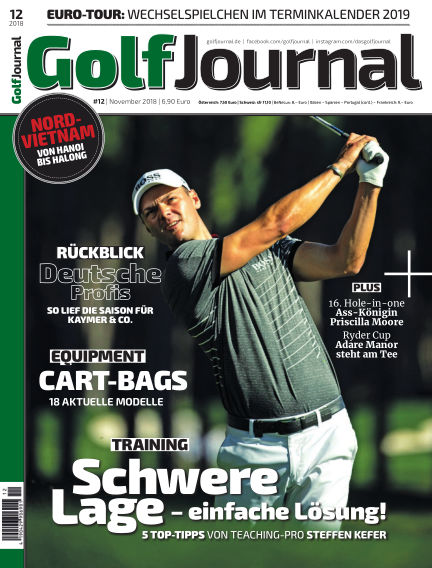 GOLF JOURNAL November 21, 2018 00:00