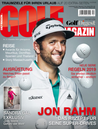 Golf Magazin NR. 12 2018
