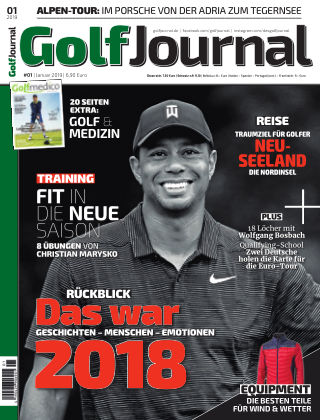 Golf Magazin 01/2019