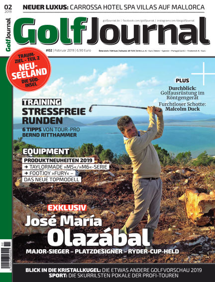 Golf Magazin January 23, 2019 00:00