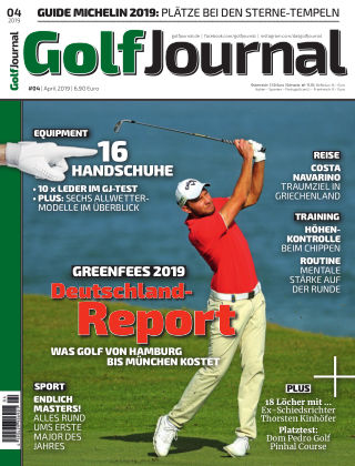 Golf Magazin 04/2019