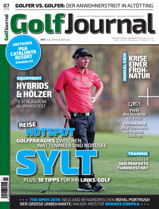 Golf Magazin 07/2019