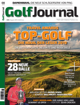 Golf Magazin 08/2019