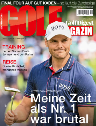 Golf Magazin NR. 08 2019
