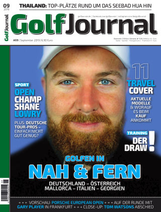 Golf Magazin 09/2019