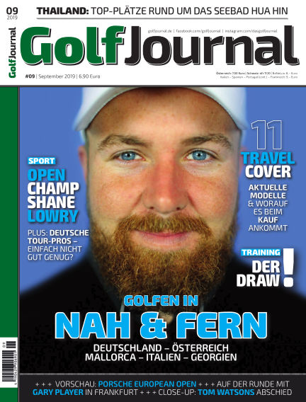 Golf Magazin August 21, 2019 00:00