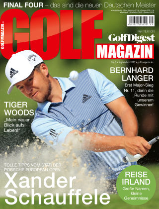 Golf Magazin NR. 09 2019