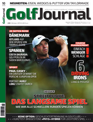 Golf Magazin 10/2019