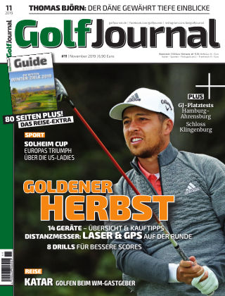 Golf Magazin 11/2019