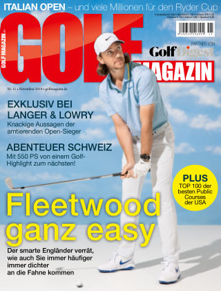 Golf Magazin NR. 11 2019