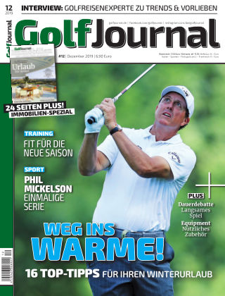 Golf Magazin 12/2019