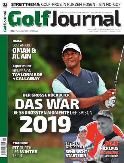 Golf Magazin January 22, 2020 00:00