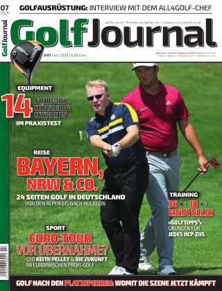 Golf Magazin 07/2020