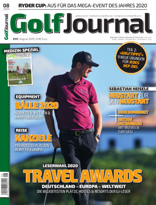 GOLF JOURNAL 08/2020