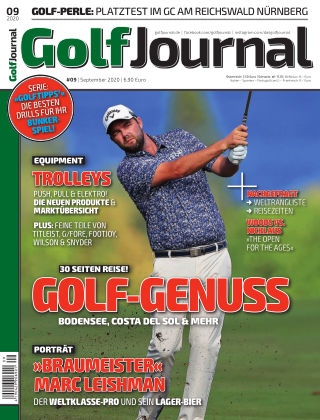 Golf Magazin 09/2020