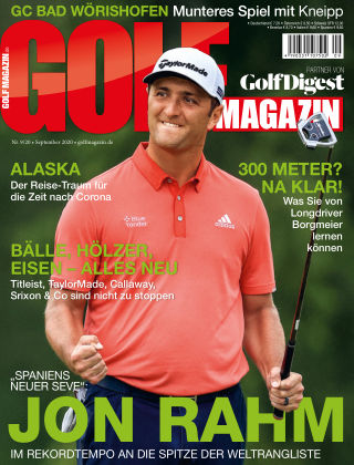 Golf Magazin NR. 09 2020