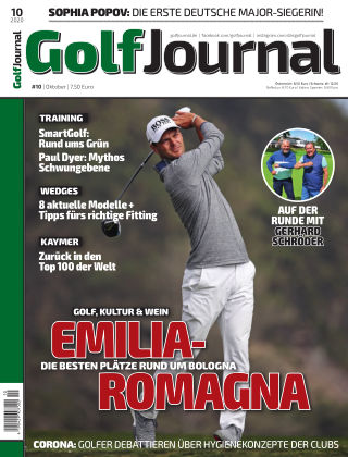 GOLF JOURNAL 10/2020