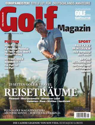 Golf Magazin 11/2020