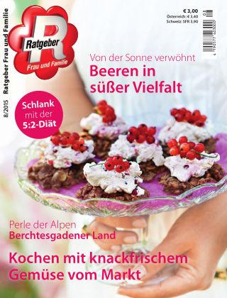 RATGEBER Frau und Familie Nr. 8/2015