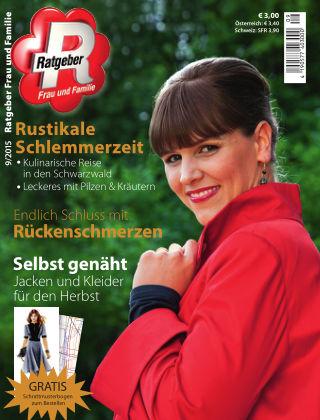 RATGEBER Frau und Familie Nr. 9/2015