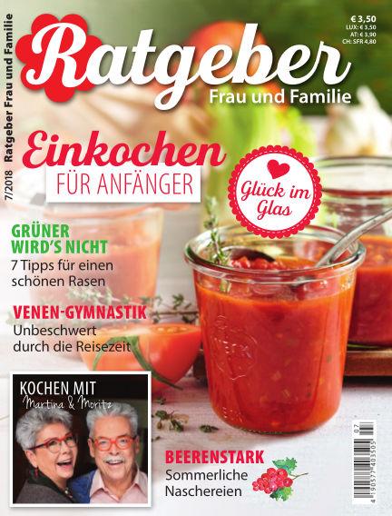 RATGEBER Frau und Familie June 29, 2018 00:00