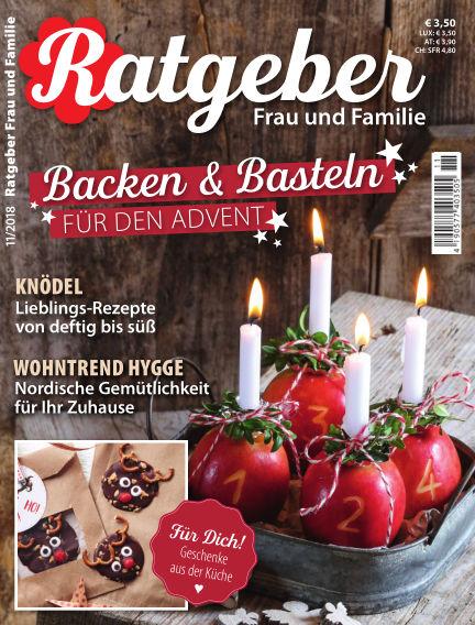 RATGEBER Frau und Familie October 26, 2018 00:00