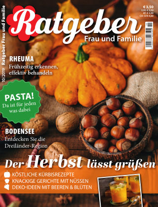 RATGEBER Frau und Familie Nr. 10/2019