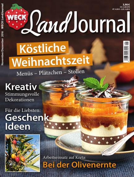 WECK LandJournal November 08, 2016 00:00