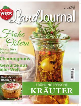 WECK LandJournal Nr. 2/2018