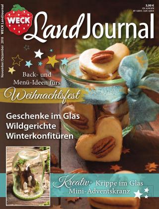 WECK LandJournal Nr. 6/2018