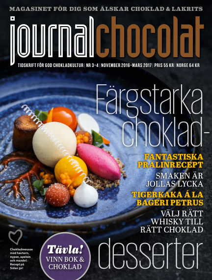 Journal Chocolat October 25, 2016 00:00