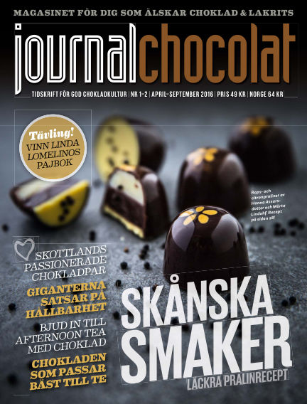 Journal Chocolat March 08, 2016 00:00