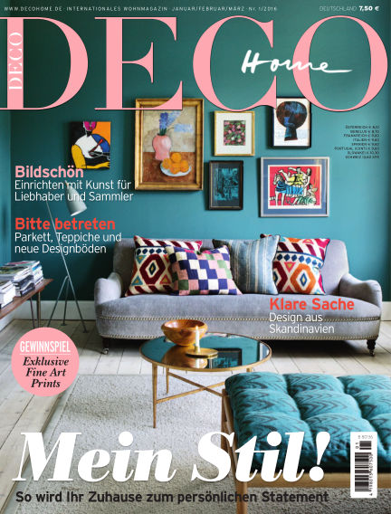 DECO HOME January 05, 2016 00:00